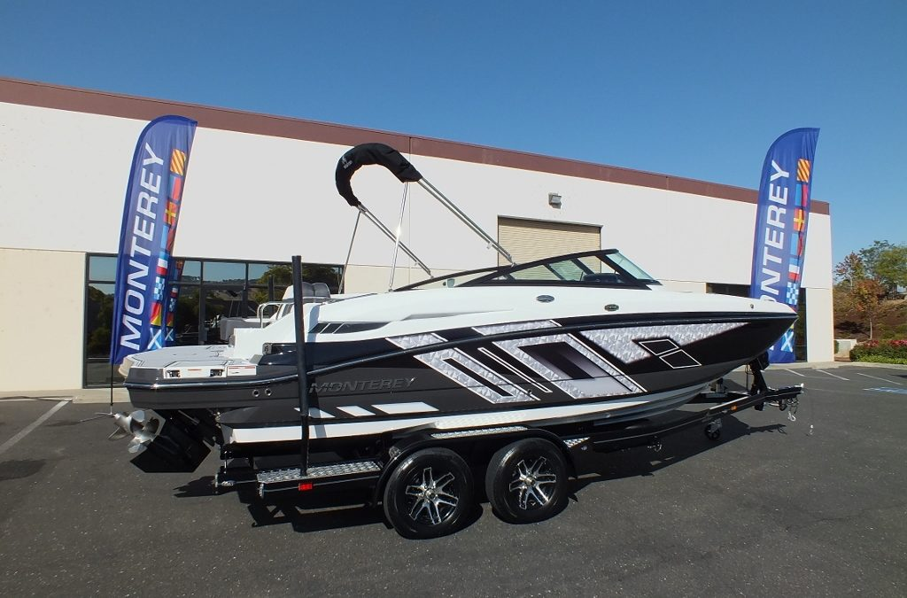 2019 Monterey M4 Deck , Our newest addition, SOLD!
