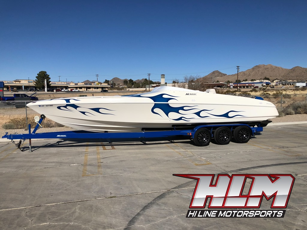 2001 Magic Wizard 29 Open Bow/Mid Cabin *SOLD