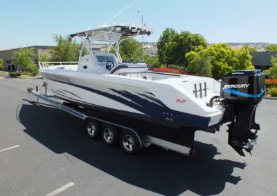 2003 DONZI 35 ZFC Daytona Center Console, SOLD!