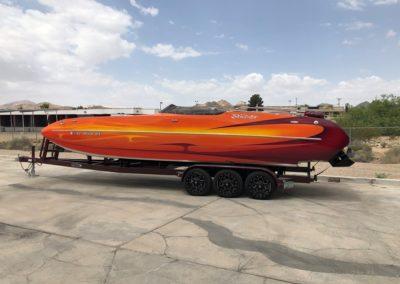 2016 Interceptor/Eliminator 28′ Koolcat Deck Boat  50 Hours!