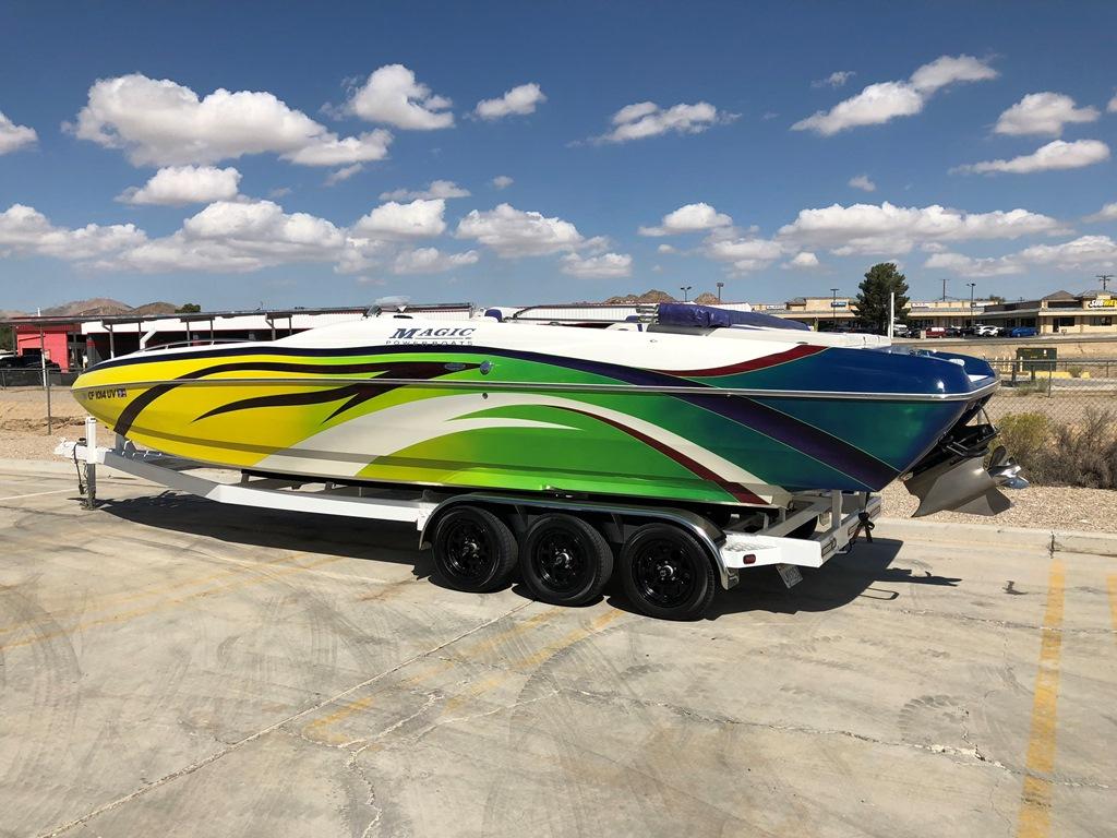 2006 Magic Deck Boat 28′ *Mercury Racing 525!