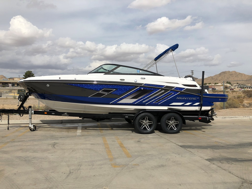 2020 Monterey M4 Deck Boat COMING IN STOCK!