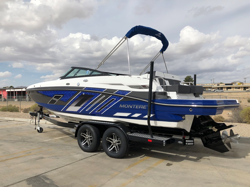 New Arrival 2019 Monterey M4 Deck Boat In Stock