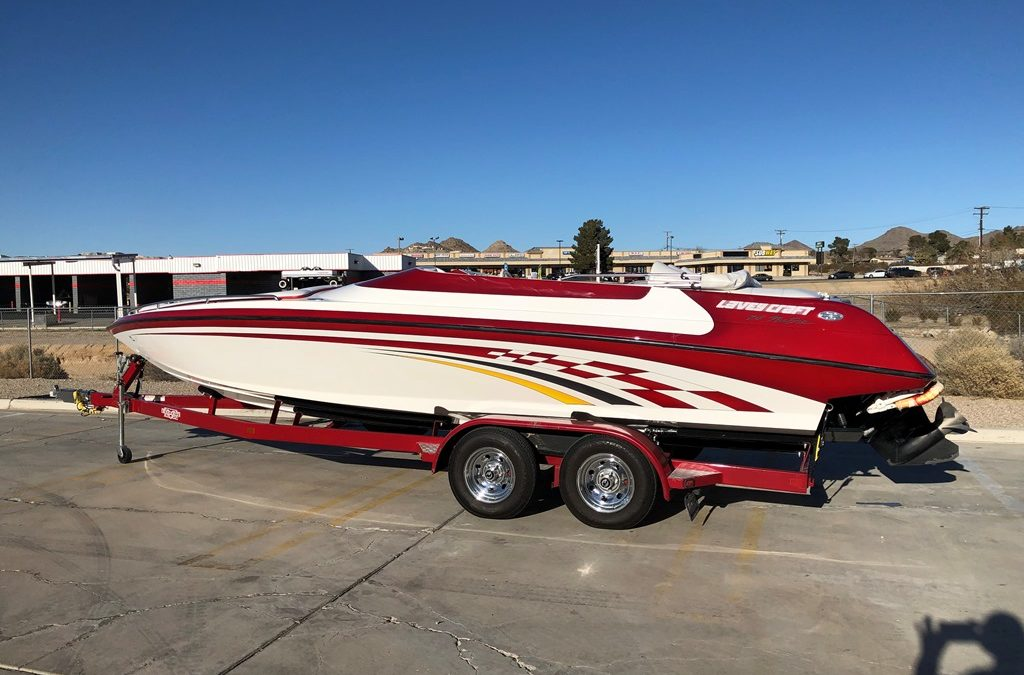 2001 Lavey Craft 24 NuEra Open Bow Walk Through *496 HO* Must See!