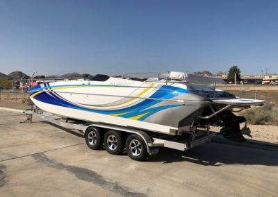 2014 Nordic 29′ Deck *Mercury Racing 600 SCI* Factory upgrades and over $190K new!!