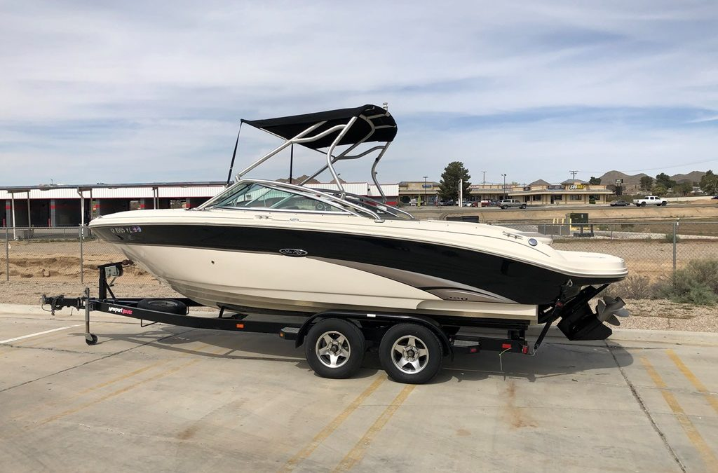 2003 Sea Ray 220 Horizon *Mercury 5.7L 350 Magnum MPI W/ Tower!