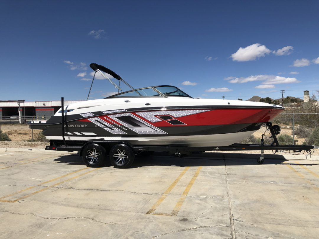 2019 Monterey M6 Deck Boat *In Stock Now! Loaded with Upgrades!