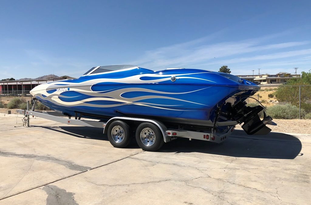 2009 Ultra 26′ Stealth (27ft) Mid Cabin open Bow (LA Boat Show with all the upgrades!!) *Merc 525 EFI