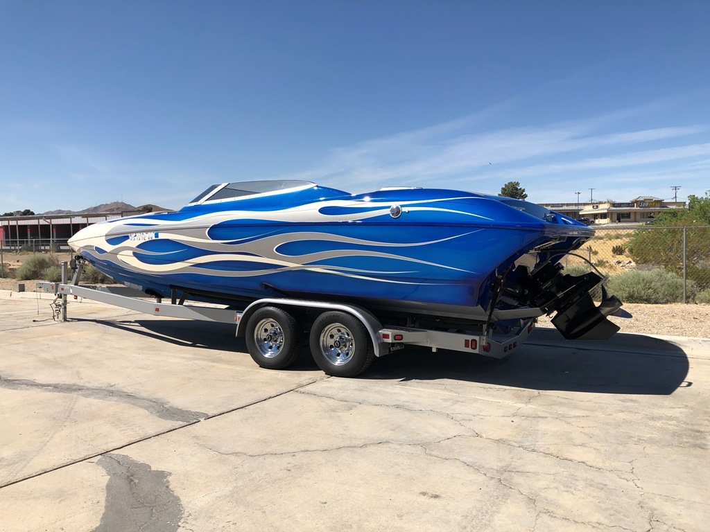 *SOLD* 2009 Ultra 26′ Stealth (27ft) Mid Cabin open Bow (LA Boat Show with all the upgrades!!) *Merc 525 EFI
