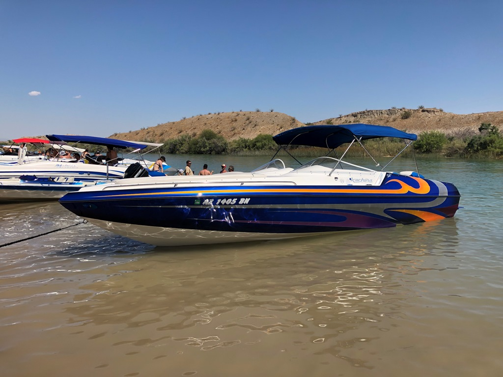 2009 Kachina 26′ Drone Mid Cabin Open Bow w/ Mercury Racing 525 EFI, Over 25K in Factory Upgrades.