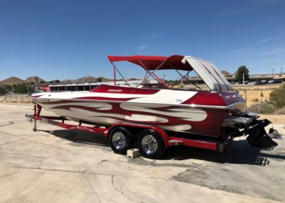 2006 Commander 25′ Ecstasy *Mercury 496 Mag* 180 hours and full walk through