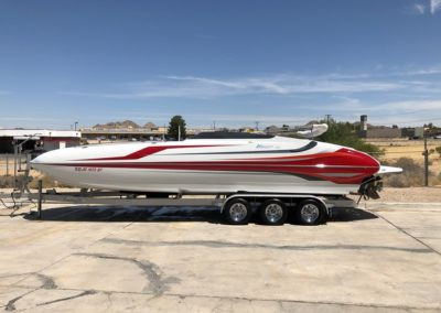 2014 Hallett 285 Deck Boat *Mercury Racing 525* Over 20K in factory upgrades