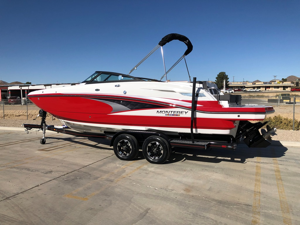 2020 Monterey M6 Deck Boat w/ lots of upgrades *SOLD–