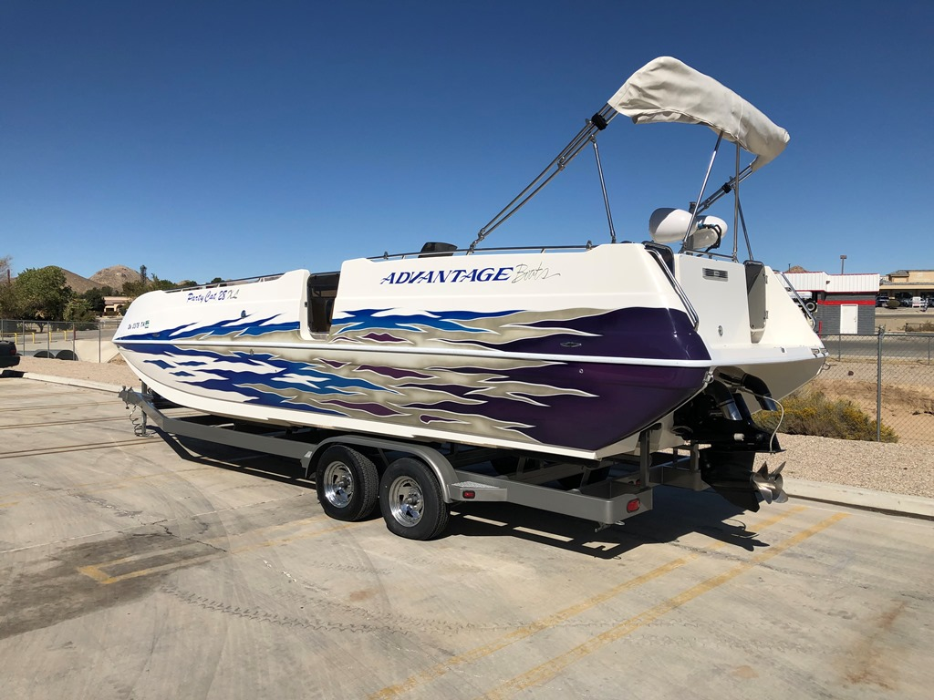 2006 Advantage Party Cat 28 XL Deck Boat *Mercury Racing 525 EFI* *Pending Sale**