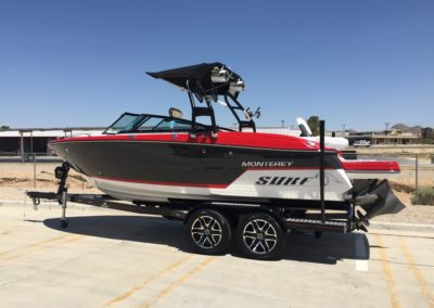 2018 MONTEREY 238SS SURF *LOADED, SOLD !!