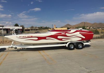 2004 ELIMINATOR DAYTONA 25′ MID CABIN OPEN BOW *496 HO* SOLD..