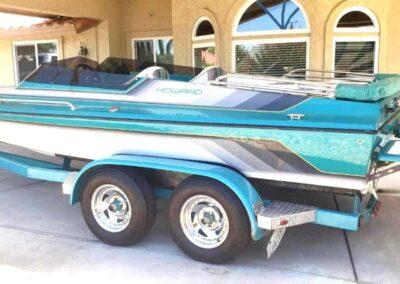 1992 Howard 22′ Bow Rider (Jet Boat)
