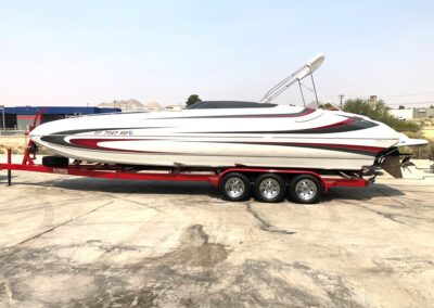 2014 Hallett 285 Deck Boat *Mercury Racing 700 SCI with a #6 Drive* Incredible Boat