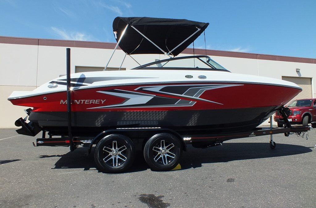 2019 Monterey M22 Red/Titanium,loaded up… Look!!