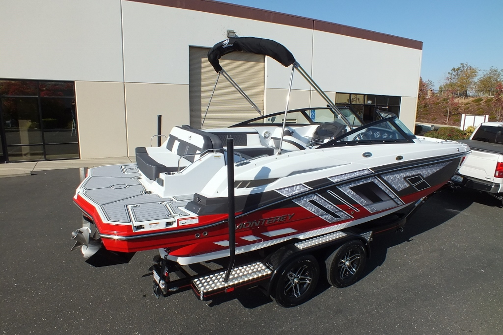 2019 Monterey M4 Deck Boat Loaded Hiline Motorsports