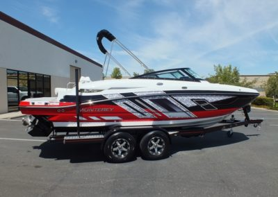 NEW 2018 MONTEREY M4 DECK BOAT, SOLD !!