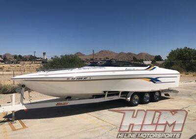 2003 Hallet 260 A/C Limited *Mercury Racing 525 EFI* Like New!