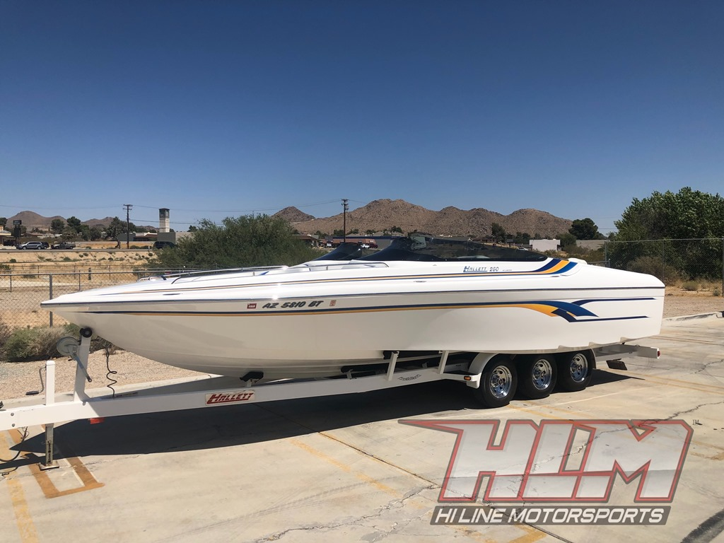 2003 Hallet 260 A/C Limited *Mercury Racing 525 EFI* SOLD