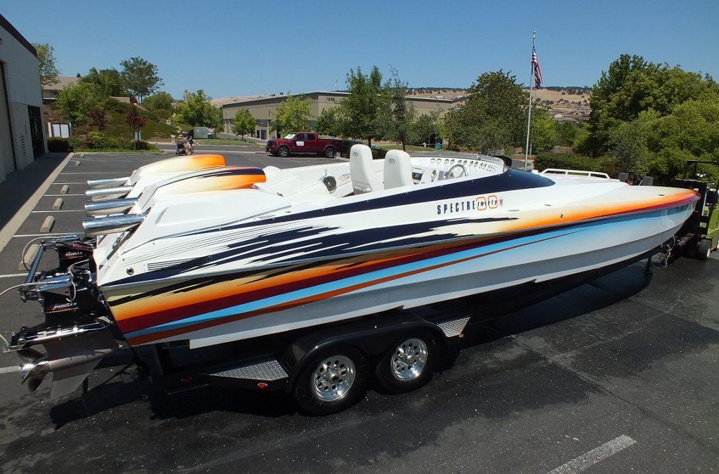 2003 Spectre 30 foot Cat,twin 496HO's,100MPH boat.