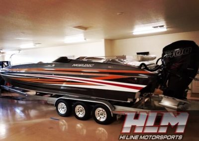 2016 Nordic Deck 29′ Deck Boat *Twin Mercury Racing 400R's *Showroom Condition