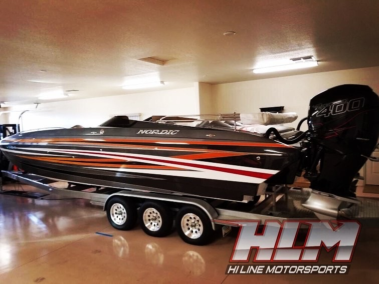 2016 Nordic Deck 29′ Deck Boat *Twin Mercury Racing 400R's *SOLD!!!!