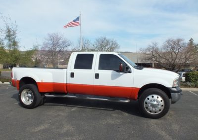 2004 F550 Dually Crew cab Lariat 4WD,w/bullet Proof 6.0.!