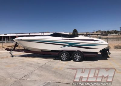 1998 Nordic Rage 25′ Open Bow *496 HO with 120 hrs!