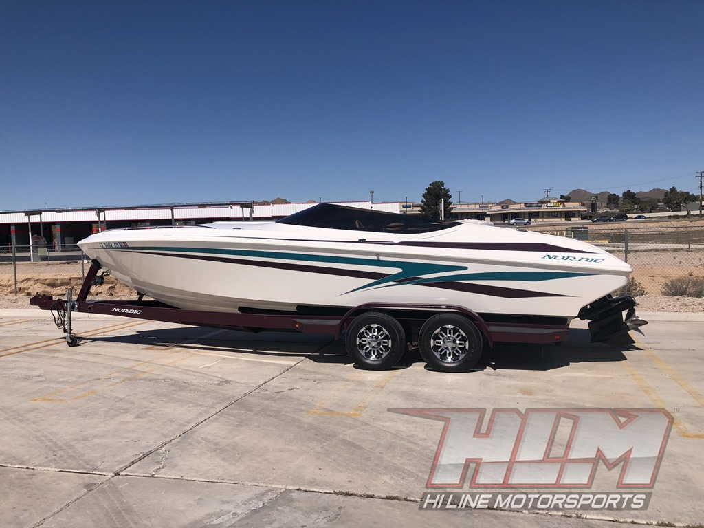 1998 Nordic Rage 25′ Open Bow *496 HO *SOLD!!