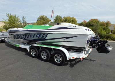 2010 WARLOCK 29 OPEN BOW,496HO, CUSTOM GRAPHIX!
