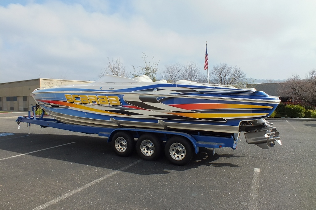 2001 Wellcraft Scarab 33 AVS, Like new!SOLD